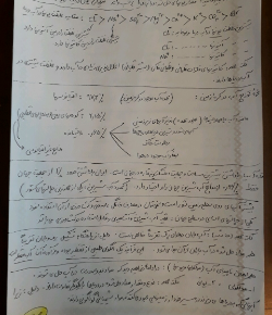 نمونه سوال شیمی
